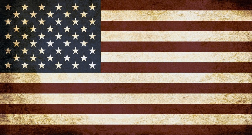 Rustic USA Flag