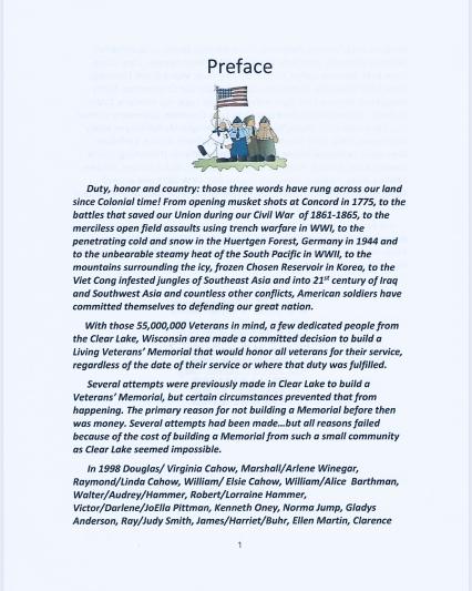 Preface Page 1